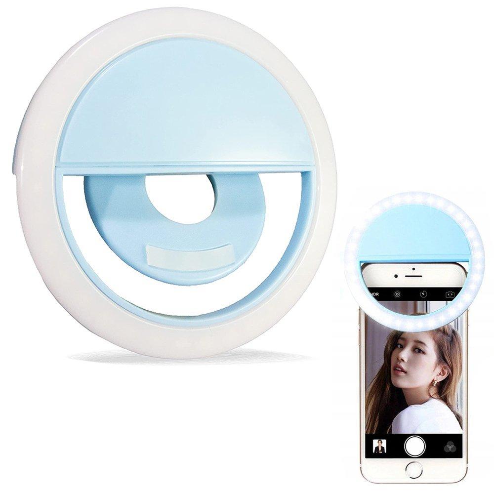 LED21 Nabíjecí LED selfie světlo pro smartphone